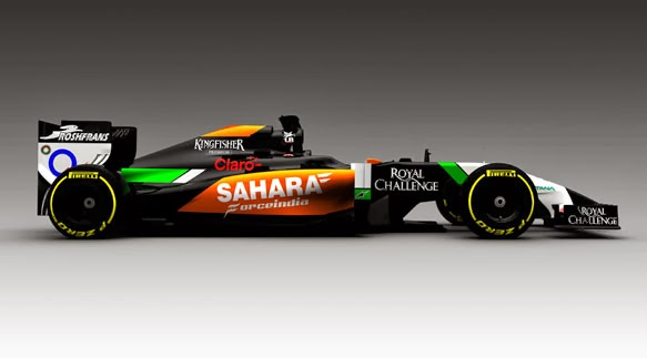 new car release 2014 ukFORCE INDIA Release a Picture of their 2014 challenger the VJM07