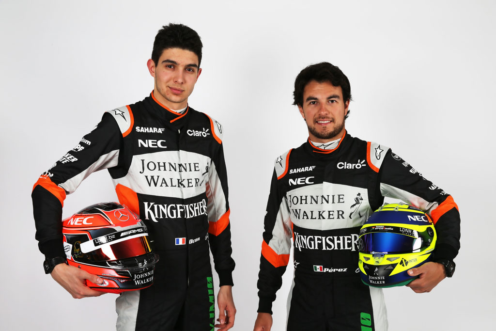 Motor Racing - Sahara Force India F1 Team Studio Shoot - Silverstone, England