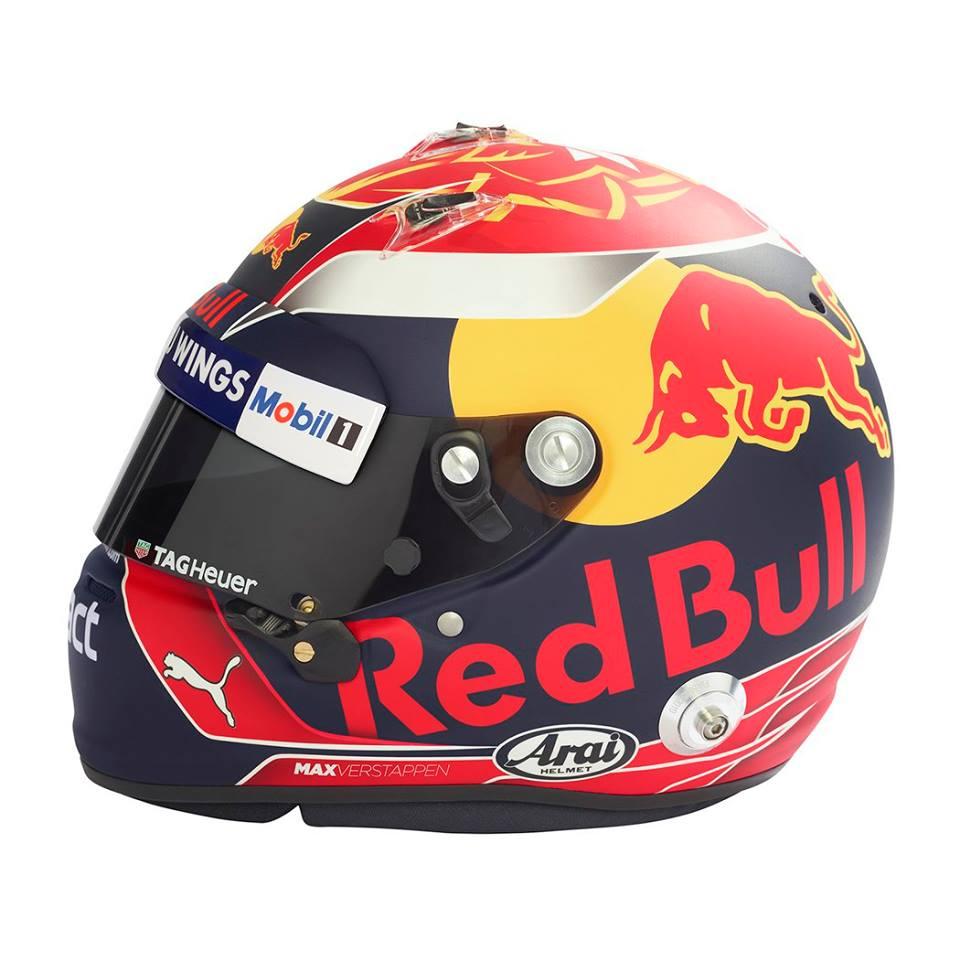 Max Verstappen Helmet 2017