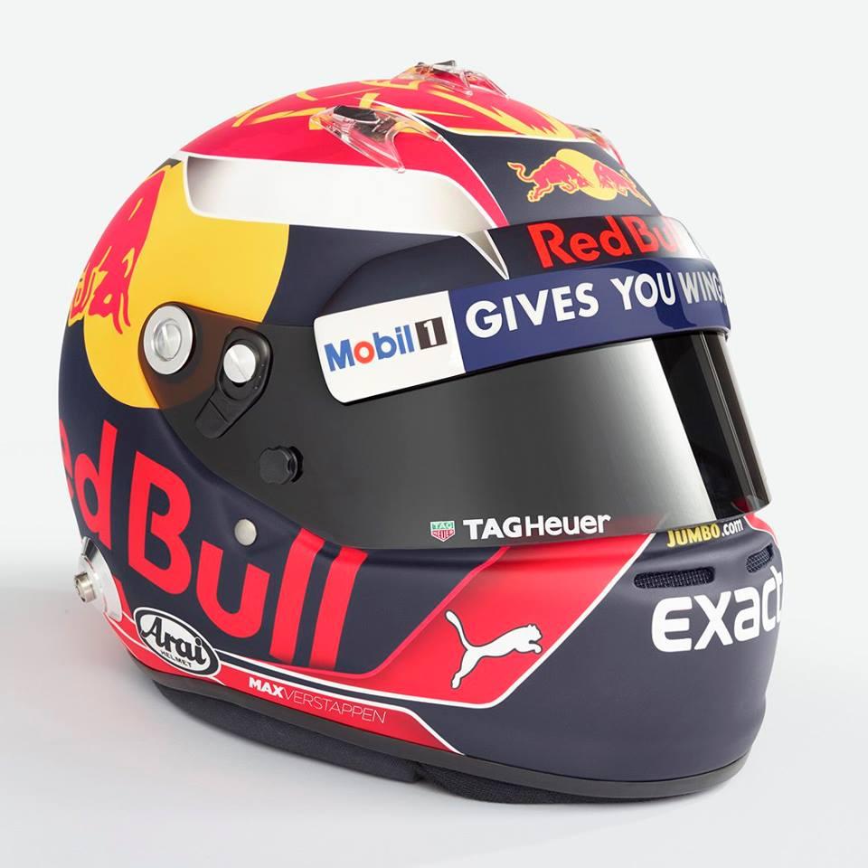 Max Verstappen Helmet 2017 2