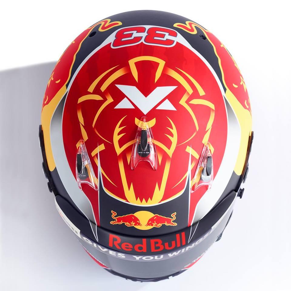 Max Verstappen Helmet 2017 3